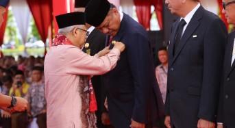 Sulut Tuan Rumah HKSN 2020, Gubernur Olly Terima Penghargaan SLKS dari Wapres