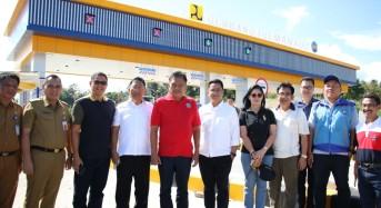 Gubernur Olly Tinjau Jalan Tol Manado – Bitung