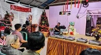 Ketua Panitia Seorang Muslim, Rukun Liuw-Weroy Gelar Ibadah Pra Natal