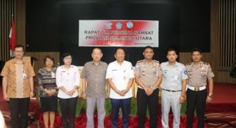 Silangen Pimpin Rakor Tim Pembina Samsat Provinsi Sulut