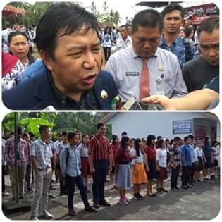 Terkait Pro Kontra Pakaian Bebas Rapih Murid SD Dan SMP, Bupati Sumendap