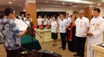 Wagub Kandouw Minta Pejabat Pemprov Sulut tetap Tunjukkan Loyalitas, Dedikasi, Integritas dan Prestasi