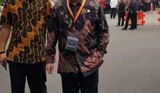 Walikota Bitung Hadiri Musrembangnas di Jakarta