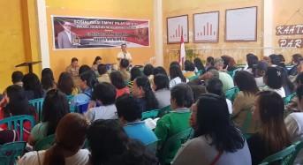 Sosialisasi Empat Pilar MPR-RI, SBANL Ajak Menghargai Kemajemukan Bangsa