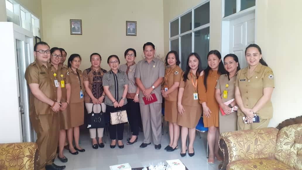 Komisi III DPRD Tomohon di Dinas Kesehatan