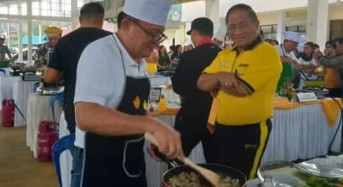 HUT ke-20 DWP, Digelar Lomba Masak Antar Pejabat Tomohon