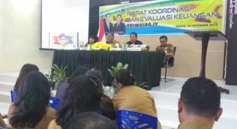 Wali Kota Tomohon Minta Pengelola Keuangan Taati Jadwal Pemasukan Berkas di Akhir Tahun