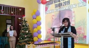 Sambut Natal, Camat Eva Kaligis Imbau Warga Motoling Timur Rayakan Dengan Kesederhanaan
