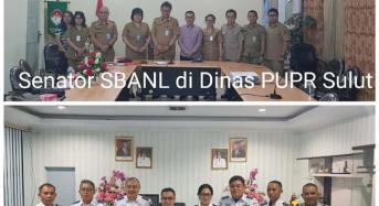 Senator SBANL Kunjungi Dishub dan Dinas PUPR Sulut