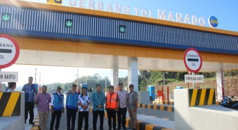 Wagub Kandouw Buka Jalan Tol Fungsional Manado-Bitung