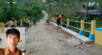 Desa Tokin Tuntaskan Pekerjaan Fisik Dandes di Tahun 2019