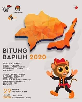 Besok, KPU Lounching Bitung Bapilih 2020