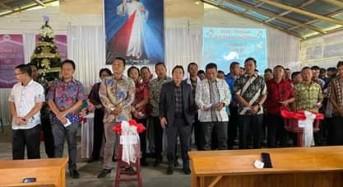 Bupati JS Berikan Bantuan Rp1,050 M untuk Pembangunan Dua Gereja di Mitra