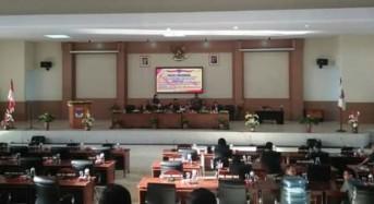 DPRD Minsel Laksanakan Paripurna Tutup-Buka Masa Sidang Dan Penyampaian Hasil Reses