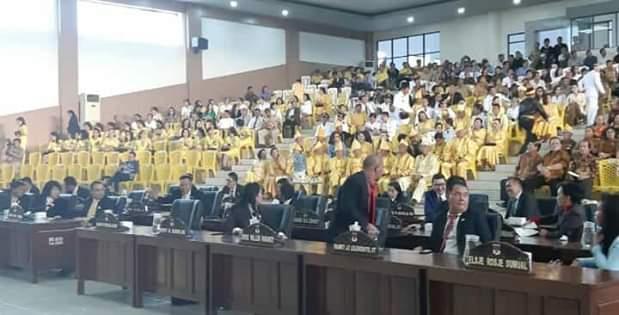 DPRD Sukses Laksanakan Paripurna Istimewa HUT ke-17 Kabupaten Minsel3