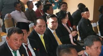 Sundah Hadiri Rapat Paripurna DPRD Minsel Dalam Rangka Hari Jadi ke-17