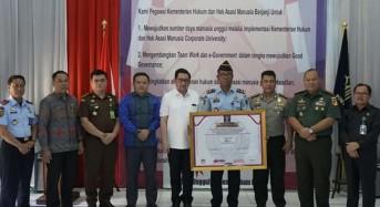 Wawali Mor Hadiri Pencanangan Zona Integritas WBK dan WBBM di Lapas Manado