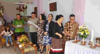 Rukun Kace Kai Ang Rayakan Natal di Keluarga Liow-Wenur