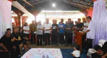 Pemkot Tomohon Ibadah Penghiburan Meninggalnya Istri Anggota DPRD