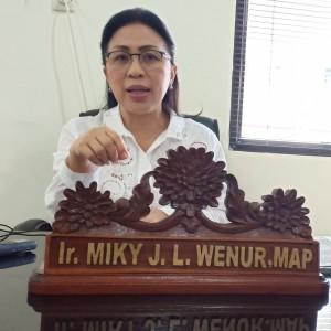 Ketua Komisi III DPRD Tomohon Ir Miky JL Wenur MAP