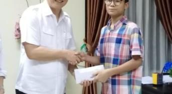 Imanuel TS Roeroe, Siswa Tomohon Wakili Indonesia di Olimpiade Matematika