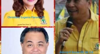 CEP, SVR dan JFE Berebut Tiket Golkar ke Pilgub Sulut