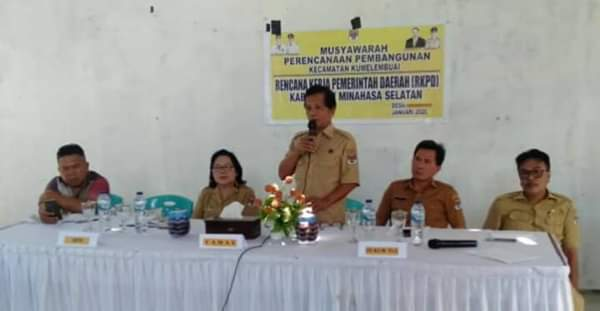 Pelaksanaan Musrembang RKPD Tahun 2021 Desa Kumelembuai Dua.(ist