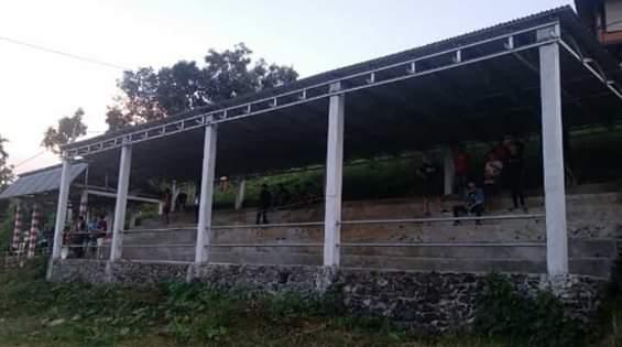 Pembangunan Tribun Lapangan Ulfers