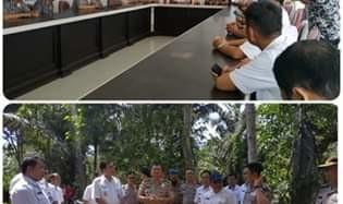 Persiapan Pembangunan Polres Mitra, Bupati JS Sambut Tim Studi Kelayakan Polda Sulut