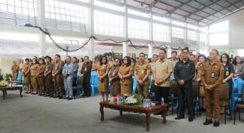 Wali Kota Tomohon Ajak ASN dan Tenaga Kontrak Kompak Jalankan Tugas