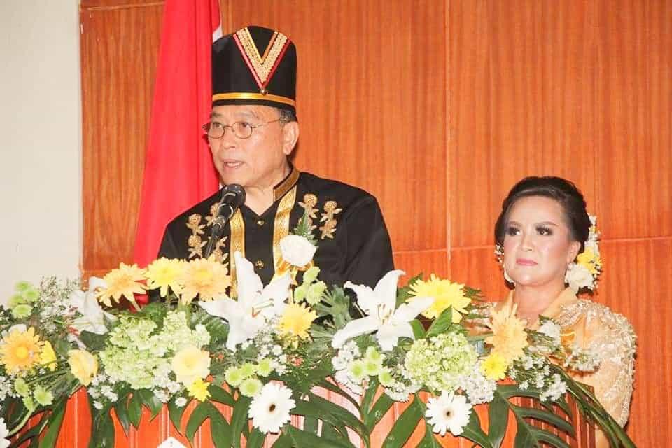 Wali Kota Tomohon Jimmy F Eman SE Ak CA