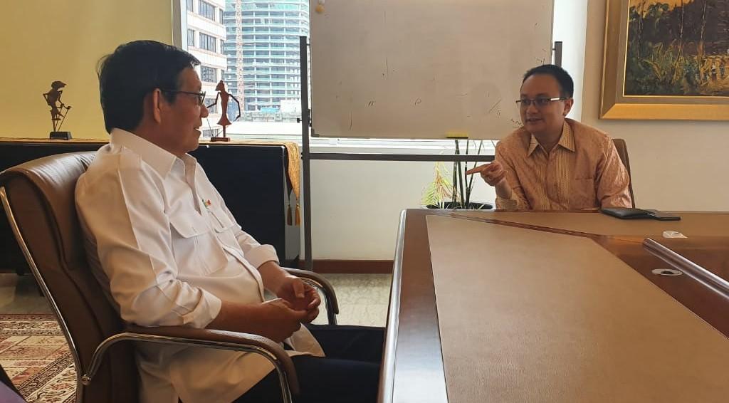 Temui Wakil Menteri Perdagangan, GSVL Perjuangkan Pengembangan Pasar Tradisional