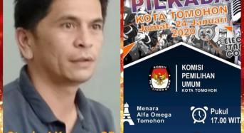 Lomba Stand Up Comedy akan Warnai Launching Pilwako Tomohon