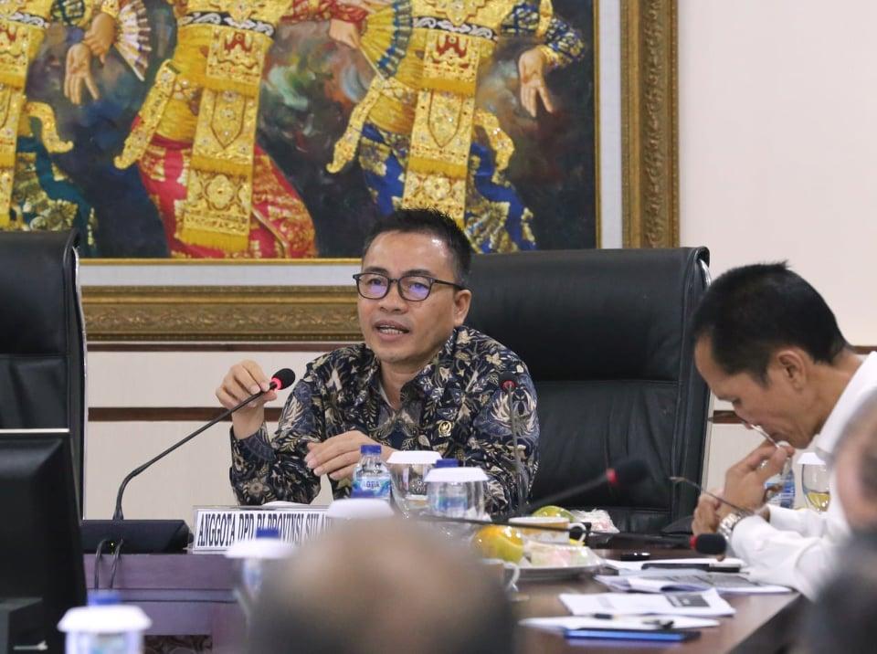 Anggota DPD-RI asal Sulawesi Utara Ir  Stefanus BAN Liow MAP