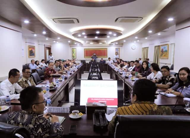 Delegasi DPRD Minahasa konsultasikan pemekaran di DPD-RI