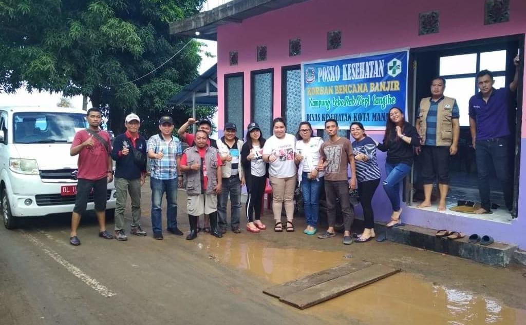 Bantu Korban Bencana di Sangihe, Pemkot Manado Buka Posko Kesehatan