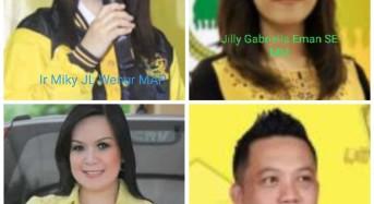 Belum Disurvey, Pasangan Calon Golkar di Tomohon Sudah Marak Beredar