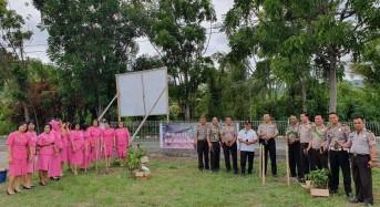 Tanam Pohon, Kapolres Mitra: Ini Program Kapolri, Wajib Didukung