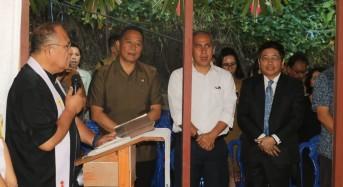 Wali Kota Tomohon Melayat ke Rumah Duka Meninggalnya Antoneta Ogotan