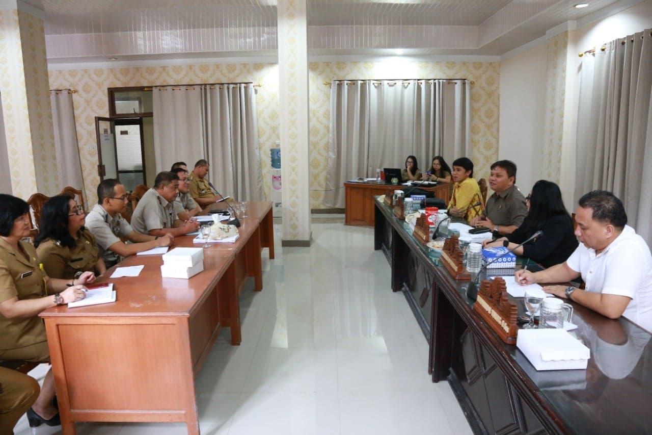 RDP Komisi I DPRD Tomohon dengan BPN
