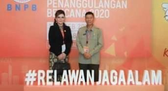 Bupati CEP Hadiri Rakornas Penanggulangan Bencana di Jakarta