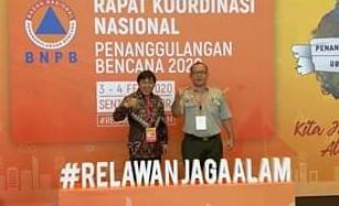 Bupati James Sumendap Hadiri Rakornas BNPB di Bogor