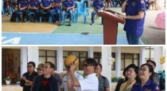 Peduli Olahraga, Karang Taruna Tomohon Gelar 3×3 Basket Ball Competition