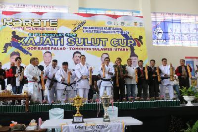 Diikuti 768 Atlet, Karate Open Tournament Kajati Sulut Cup II Bergulir