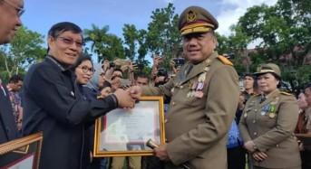 Terima Penghargaan K3, Bukti GSVL Peduli Nasib Tenaga Kerja di Manado
