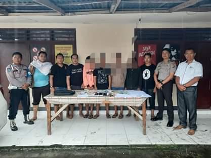 Polres Minahasa Tenggara Tangkap Empat Orang Pengepul Togel