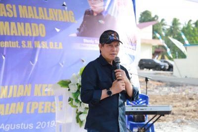 Wali kota saat meresmikan Pasar Restorasi Kayu Bulan Beberapa waktu yang lalu