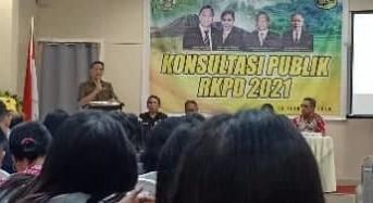 Sempurnakan RKPD 2021, Pemkot Tomohon Gelar Konsultasi Publik