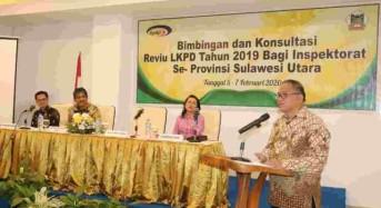 Pemkot Tomohon Gelar Bimbingan dan Konsultasi Review LKPD