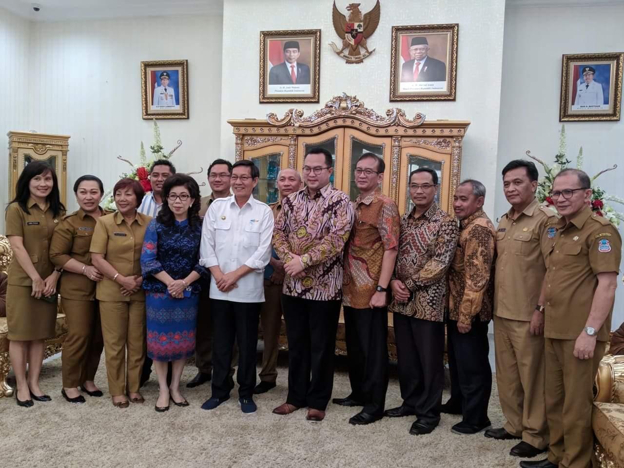 Tingkatkan Kesejahteraan Rakyat Lewat Teknologi, Pemkot Manado dan Universitas IPB Teken MoU